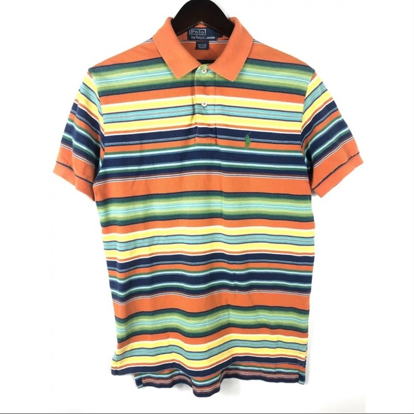 Polo by Ralph Lauren Other - Vtg Polo Ralph Lauren Polo Shirt Pony Bright Neon